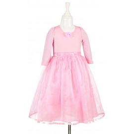 robe rose Aline