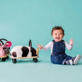 trotteur vache Wheelybug - petit modèle
