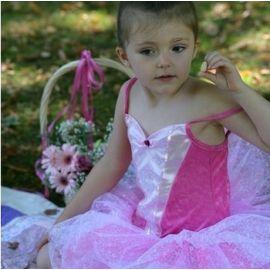 splendide robe de ballerine rose t18 mois-3 ans